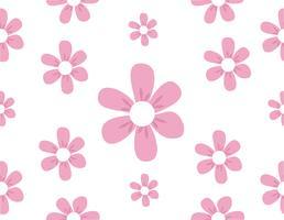 süßes Blumenmuster vektor