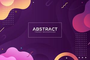 dynamischer abstrakter flüssiger Hintergrund. Bunt und Farbverlauf Stil
