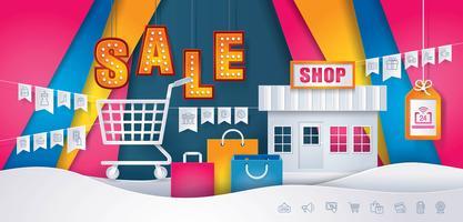 Geschäfts-Online-Shop