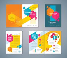omslagsbok designuppsättning