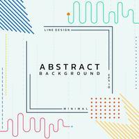 Moderne Linien des abstrakten Hintergrundes