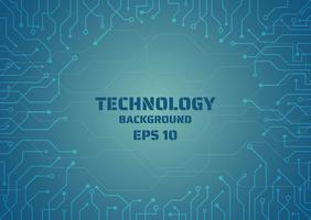 digitale Linie der Technologie, die Rahmen schafft vektor