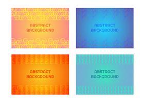 Geometrisches muster hintergrund vektor