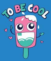 Cooles Eis sein