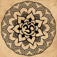 Mandala. Runde Verzierung