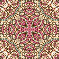 Nahtloses Muster des Stammes- ethnischen Hintergrundes