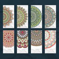 Mandala-Visitenkarten-Set