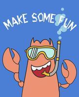 Machen Sie Sun Fun Prawn