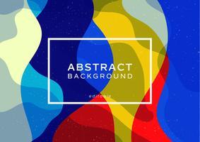 abstrakt dynamisk bakgrund minimalistisk stil vågdesign vektor
