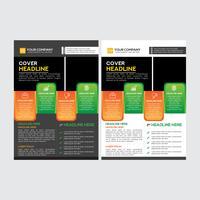 Grossunternehmen Marketingstrategie Flyer Design