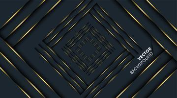 schwarzer Hintergrund überlappen goldene Farbe