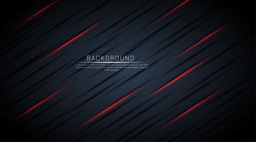 Mörkblå bakgrund med röda skugglinjer