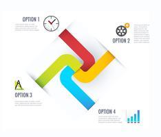 Geschäft Infographik Diagramm