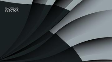 Hintergrund mit dunkelgrauen Metallschichten