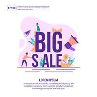 Stor försäljning online grafik