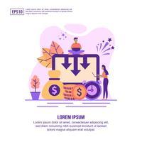 Kostnadsminskning webbsidesmall