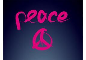 Frieden Logo vektor