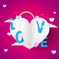 Älskar Baloon för alla hjärtans dag