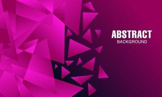 Abstraktes modernes rosa polygonales Hintergrunddesign