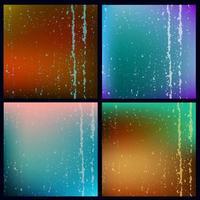 Grunge Texturen Hintergrund Set