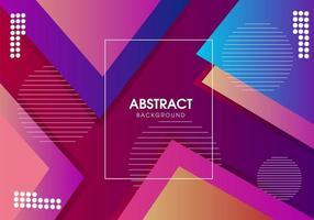 Abstrakt modern geometrisk