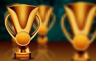 guld trofé cup
