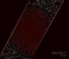 abstrakt röd mörk bakgrund vektor