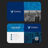 Moderne bunte Visitenkarte