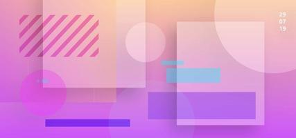 Transparenter Form-Zusammenfassungs-Hintergrund