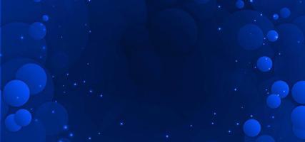 Blå abstrakt cirkulär ljus bakgrund