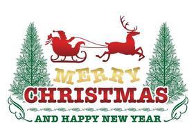 Weihnachtsemblem oder -abzeichen