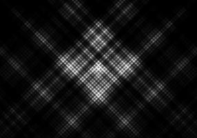 Schwarzweiss-Farbhintergrund mit quadratischem Gitter vektor