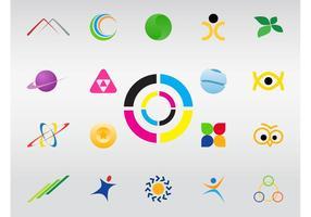 Logo-Formen vektor