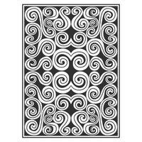 Utsmyckade abstrakta virvlar mönster