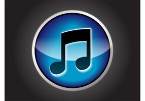 Musik ikon vektor