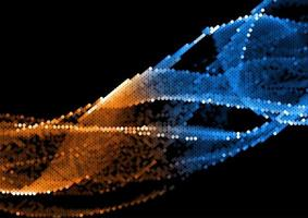 Pixel-Halbtonpunkte vektor