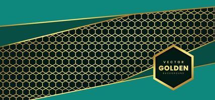 Lyxig bakgrund med gyllene mönster vektor