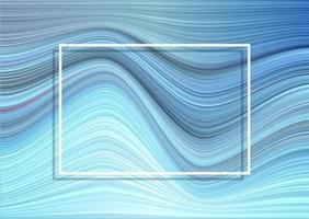 Bakgrund med sned rand med den vita ramen vektor