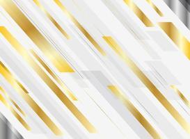 Abstrakte geometrische glänzende Bewegung der Goldsteigung helle Farb