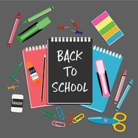 Tillbaka till skolan brevpapper