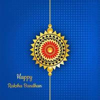 Raksha Bandhan Rakhi Hintergrund vektor