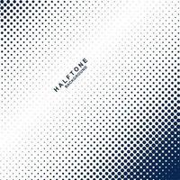 blauer Halbton punktiert Hintergrund vektor
