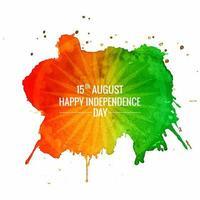 Lycklig självständighetsdag i Indien