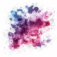 Akvarell splatter bakgrund