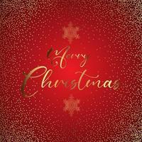 Frohe Weihnachten Glittery Hintergrund
