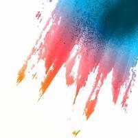 Akvarell splat bakgrund vektor