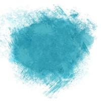 Blaugrünes Aquarell splatter vektor