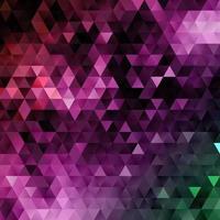 Niedriger abstrakter Polyhintergrund vektor