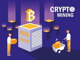 lagarbetare crypto mining bitcoins