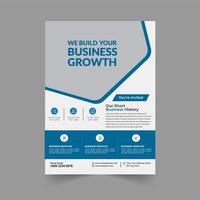 Geschäftswachstum Broschüren Vorlage